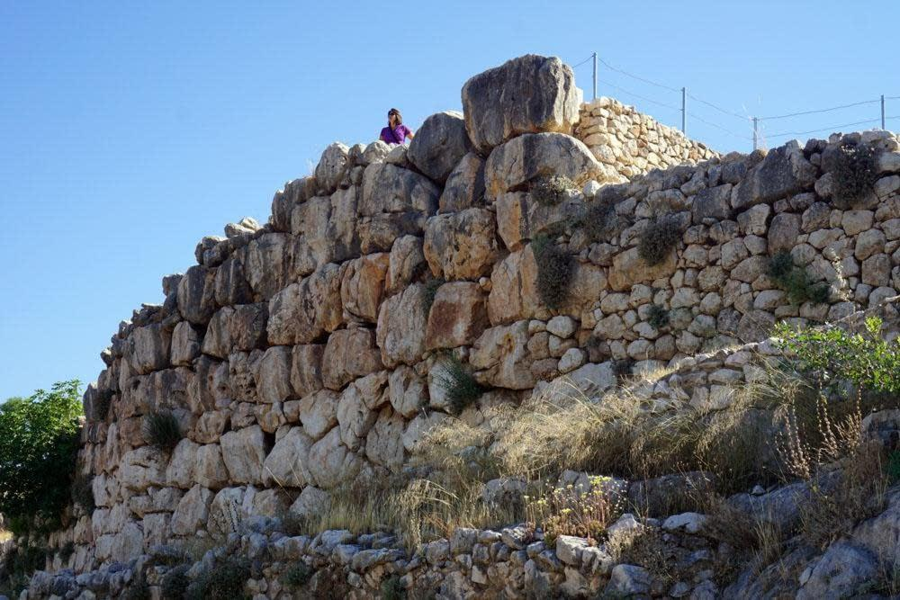 Lauren at Mycenae