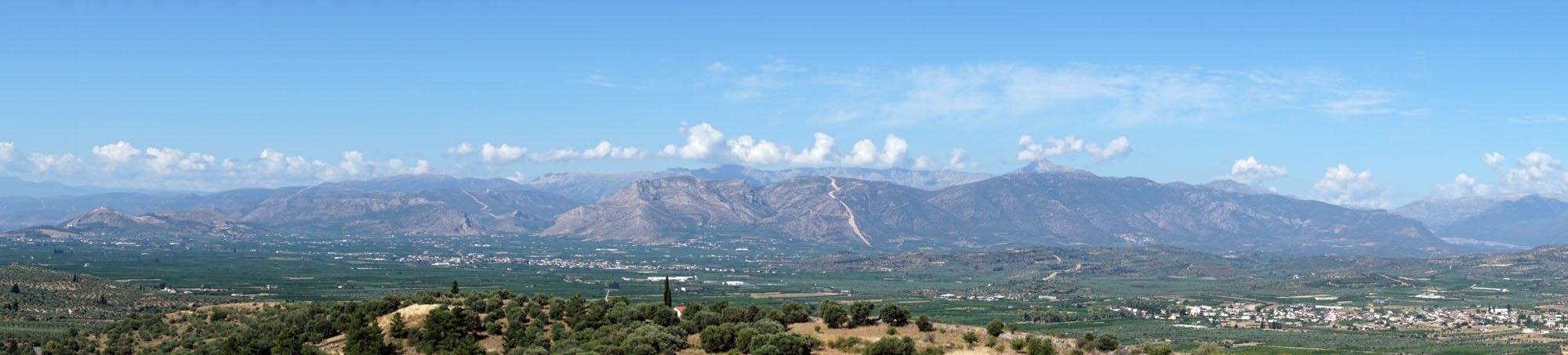 The view from Mycenae